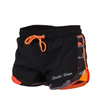Gorilla Wear Womens Denver Shorts (Black/In-Orange)