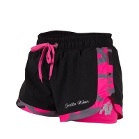 Gorilla Wear Womens Denver Shorts (Black/Pink)
