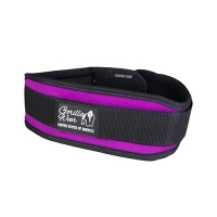 Gorilla Wear Womens Lifting Belt (Black/Purple)