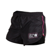 Gorilla Wear Womens New Mexico Cardio Shorts (Black/Pink)