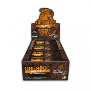Grenade Reload Protein Flapjacks (12x70g)