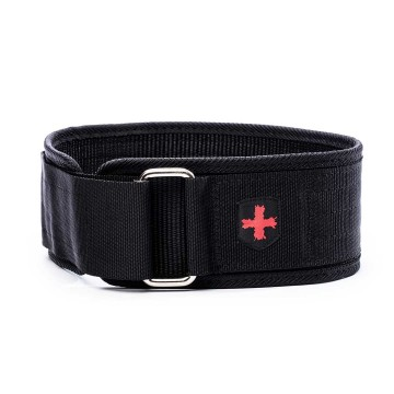 Harbinger 4 Inch Nylon Belt Black