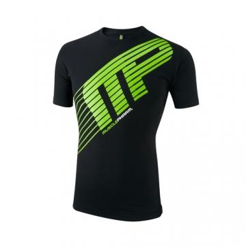 Musclepharm Sportswear Crew Neck Sport Line Tee Black (MPTS406)