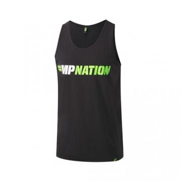 Musclepharm Sportswear Graphic Vest Hashtag Black (MPVST434)