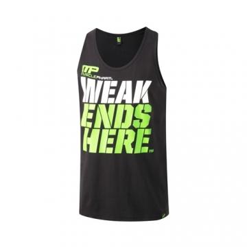 Musclepharm Sportswear Graphic Vest Weak Ends Here Black (MPVST437)