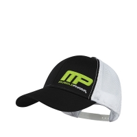 Musclepharm Sportswear Hat Flatbrim Flagship Black White (MPHAT457)