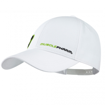 Musclepharm Sportswear Hat MP-Youth White (MPHAT456)