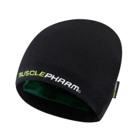 Musclepharm Sportswear Knitted Hat Black (MPHAT473)