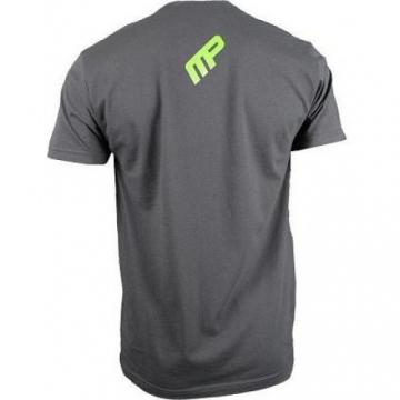 Musclepharm Sportswear Mens Performance T-shirt Grey Marl (MPTS522)