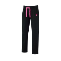 Musclepharm Sportswear Womens Sweat Pant Black-Hot Pink (MPLPNT453)