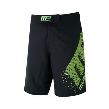 Musclepharm Sportswear Woven Short Pixel Black Lime-Green (MPSHO421)