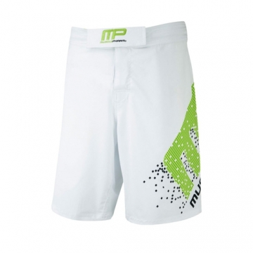 Musclepharm Sportswear Woven Short Pixel White - Lime (MPSHO421)
