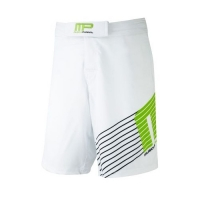 Musclepharm Sportswear Woven Short Sportline White Lime-Green (MPSHO420)