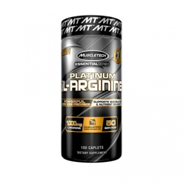Muscletech Essential Series Platinum 100% L-Arginine (100)