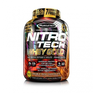 Muscletech Performance Series Nitro Tech 100% Whey Gold (5,5lbs)