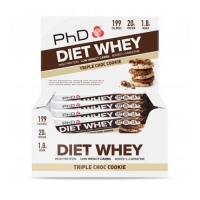 PhD Diet Whey Bar (12x65g)