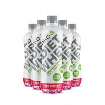 PhD Diet Whey Protein Water (8x500ml)