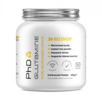 PhD Micronized Pharmaceutical L-Glutamine (250g)