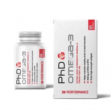 PhD Omega-3 Caps (90)