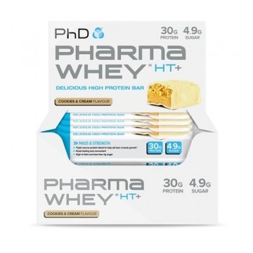 PhD Pharma Whey HT+ Bar (12x75g)