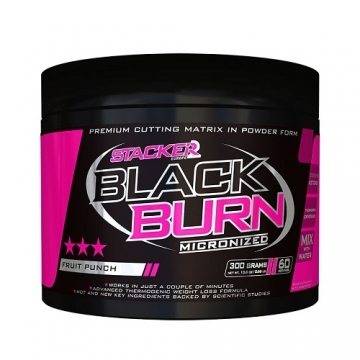 Stacker2 Black Burn Micronized (300g)