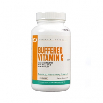Universal Nutrition Buffered Vitamin C (100 Tabs)