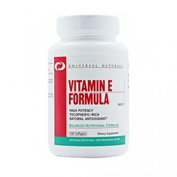 Universal Nutrition Vitamin E Formula (100 Caps)
