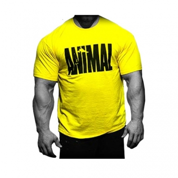Universal Sportswear Animal Iconic Shirt Yellow
