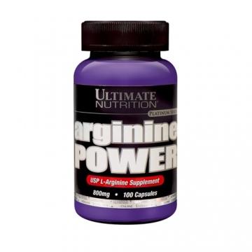 Ultimate Nutrition Arginine Power 800mg (100Caps)