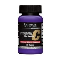 Ultimate Nutrition Vitamin C plus Calcium (60Caps)