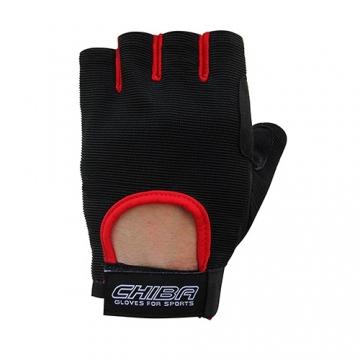 Chiba 40517 Summertime Gloves (Black/Red)