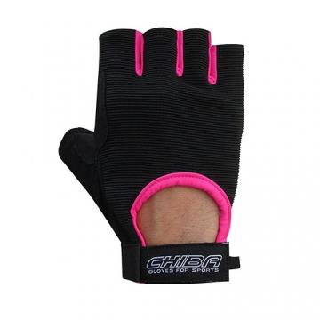 Chiba 40517 Summertime Gloves (Black/Pink)