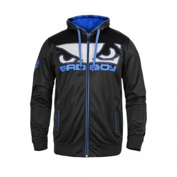 Badboy Dynamic Hoodie (Black/Blue)