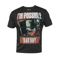 Badboy News Tee (Charcoal)