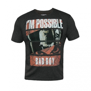 Badboy News Tee (Charcoal)