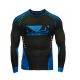Badboy Sphere Compression Top L/S (Black/Blue)