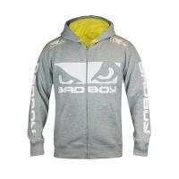 Badboy Walk In Hoodie 2.0 (Grey Yellow)
