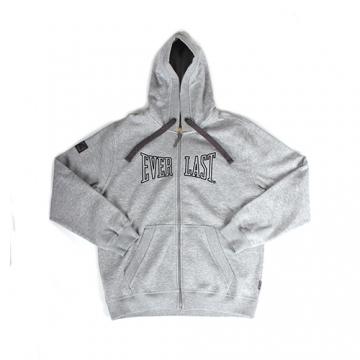Everlast Sportswear Everlast Overhead Hood Zipper Grey Marl (EVR2176)