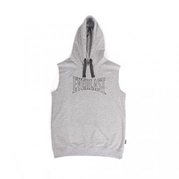 Everlast Sportswear Everlast Sleeveless Hood Grey Marl (EVR4488)