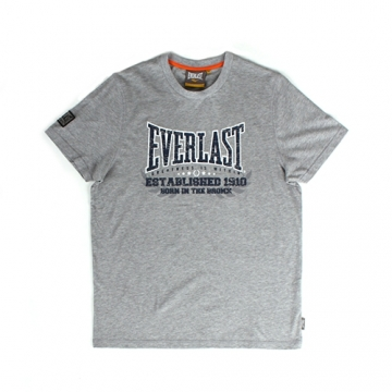 Everlast Sportswear Everlast Tee Established Grey Marl (EVR4429)