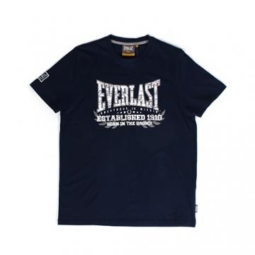 Everlast Sportswear Everlast Tee Established Navy (EVR4429)