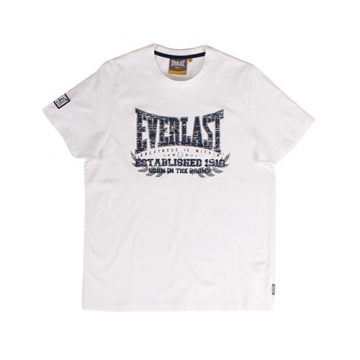 Everlast Sportswear Everlast Tee Established White (EVR4429)