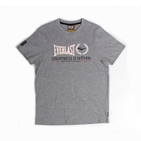 Everlast Sportswear Everlast Tee Greatness Grey Marl (EVR4421)