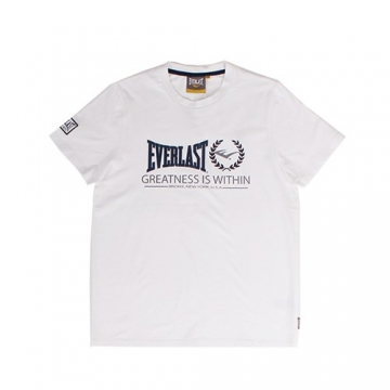 Everlast Sportswear Everlast Tee Greatness White (EVR4421)