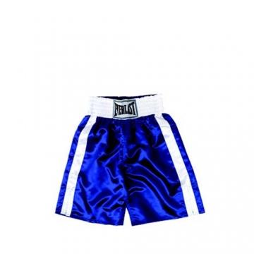 Everlast Pro Boxing Trunks (61cm) (Blue/White)