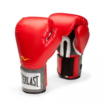 Everlast Pro Style Training Glove (Red)