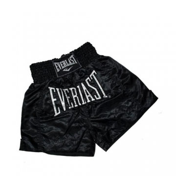 Everlast EM6 Mens Thai Boxing Short (Black)