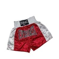 Everlast EM6 Mens Thai Boxing Short (Red/White)