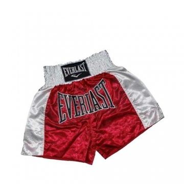 Everlast EM6 Mens Thai Boxing Short (Red/White)