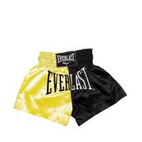 Everlast EM7 Mens Thai Boxing Short (Gold/Black)